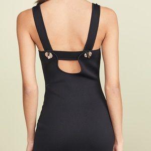 3.1 PHILLIP LIM sleeveless dress w/ shank buttons